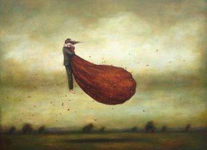 abrazos al viento